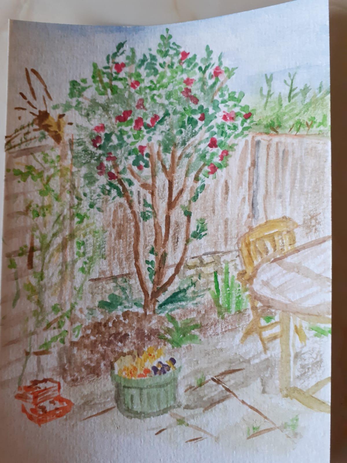 Val Davis Painting
