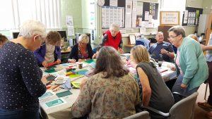 Kinver Art Group at Kinver Library