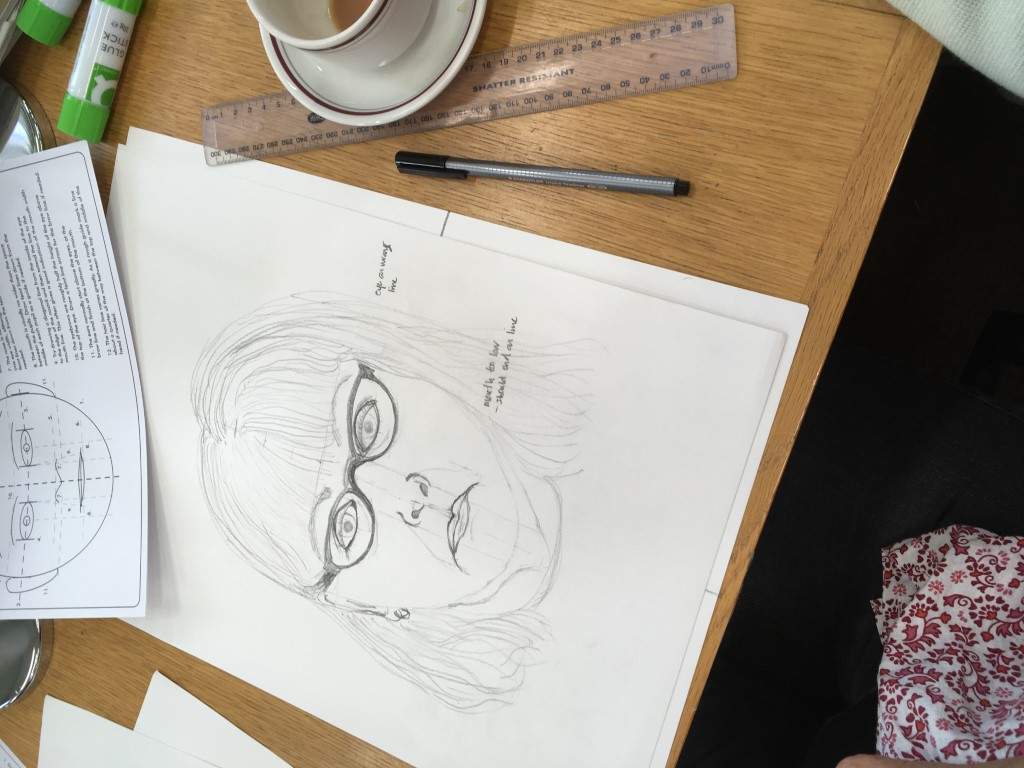 Self portrait workshop