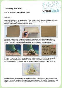 Mail Art Activity