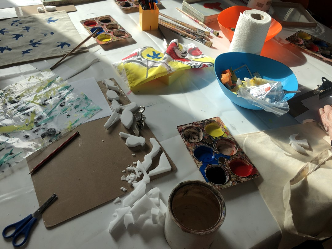 New Art Gallery Walsall Create Space workshop